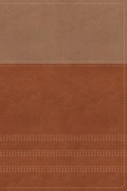 Imitation Leather Tan / Brown Book