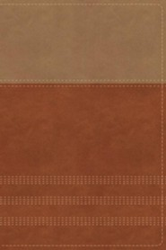 Imitation Leather Tan / Brown Book Thumb Index