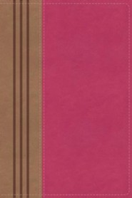 Imitation Leather Pink / Brown Book