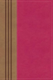 Imitation Leather Pink / Brown Book Thumb Index