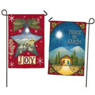 Peace On Earth & Joy Flag, Small