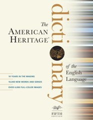 American Heritage Dictionary of the English Language, Fifth Edition  -