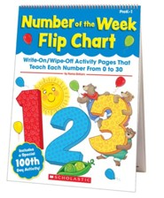 Number of the Week Flip Chart   -     By: Kama Einhorn