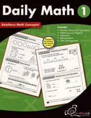 Daily Math Workbook, Grade 1