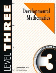 Developmental Math, Level 3, Student Workbook