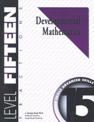Developmental Math, Level 15, Student Workbook