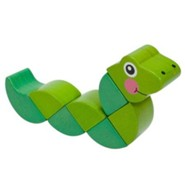 First Play: Wiggling Worm Grasping Toy