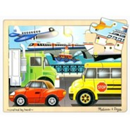 On The Go Jigsaw Puzzle (12 pc)
