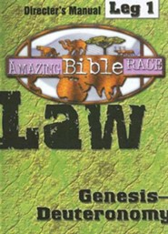 Amazing Bible Race, Director's Manual, Leg 1 CDROM: Law: Genesis Deuteronomy  -