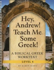 Hey, Andrew! Teach Me Some Greek! Level 4 Full Workbook Set
