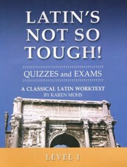 Latin's Not So Tough! Level 1 Quizzes & Exams
