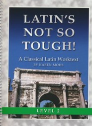 Latin's Not So Tough! Level 2 Workbook