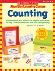 Shoe Box Learning Centers: Counting