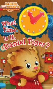 What Time Is It, Daniel Tiger? -Board Book