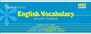English Vocabulary SparkNotes Study Cards