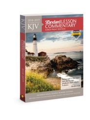 KJV Standard Lesson Commentary &#174 Large Print Edition 2018-2019