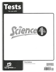 BJU Science Grade 1 Test Pack, Third Edition