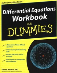 Differential Equations Workbook For Dummies &#174