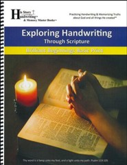 Exploring Handwriting Through Scripture (Print Edition)