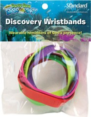 Deep Sea Discovery VBS: Discovery Wristbands, set of 5   -