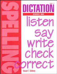 Dictation Resource Book (for us with Spelling Plus)