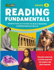 Reading Fundamentals: Nonfiction Activities to Build Reading Comprehension Skills, Grade 6