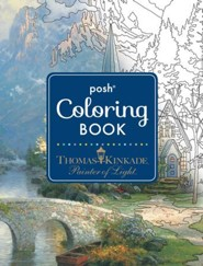 Thomas Kinkade Adult Coloring Book