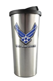 U.S. Air Force Stainless Steel Travel Mug
