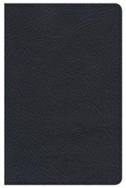 KJV Minister's Pocket Bible, Black Genuine Leather
