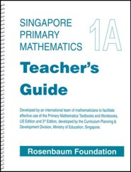 Singapore Math Primary Math Teacher's Guide 1A