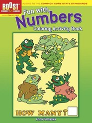 Fun with Numbers Coloring Activity Book