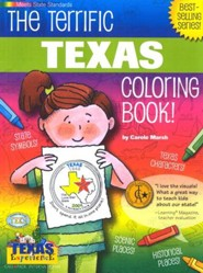 Texas Coloring Book, Grades PreK-3
