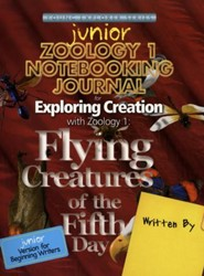 Exploring Creation with Zoology 1 Junior Notebooking Journal