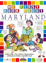 Maryland My First Book, Grades K-5