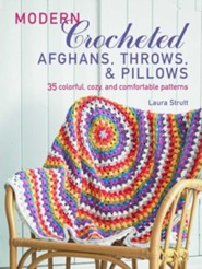 Modern Crocheted Blankets, Throws, And Pillows