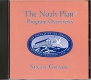 The Noah Plan Program Overviews Sixth Grade on CD