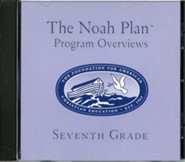 The Noah Plan Program Overviews Seventh Grade on CD