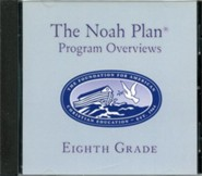 The Noah Plan Program Overviews Eighth Grade on CD