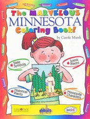 Minnesota Coloring Book, Grades PreK-3