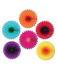 Passport to Peru VBS: God Sighting Fiesta Flowers, pack of 6
