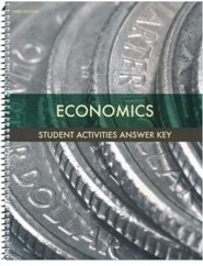 BJU Press Economics Grade 12 Student Activities Key (3rd Edition)
