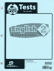 English Grade 2 Tests Answer Key (3rd Edition)