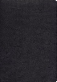 Genuine Leather Black Book Black Letter
