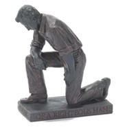 Praying Man, Figurine Sculpture