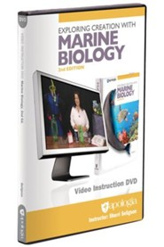 Exploring Creation with Marine Biology Video  Instruction DVD (2nd Edition)