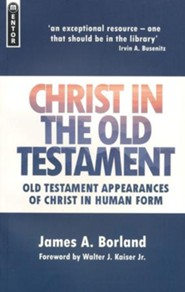 Christ in the Old Testament: Old Testament Appearances of Christ in Human Form, Updated Cover