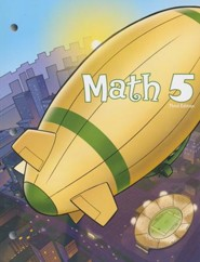 BJU Math 5 Student Worktext (Third Edition; Updated  Copyright)