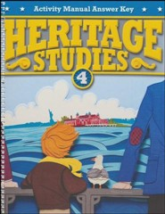 Heritage Studies Grade 4 Student Activities Key (3rd Edition)