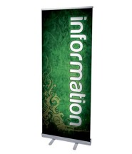 Adornment Information (31 inch x 79 inch) RollUp Banner