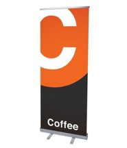Metro Coffee (31 inch x 79 inch) RollUp Banner